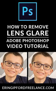Adobe Photoshop Video Tutorial: Wondering how to get rid of that nasty glare on your photo? I'll show you the easiest way to remove photo glare inside Adobe Photoshop Photography Editing. Photoshop Fail, Photoshop Design, Adobe Photoshop Tutorial, Photoshop Brushes, Advanced Photoshop, Photoshop Website, Photoshop Youtube, Photoshop Filters, Learn Photoshop