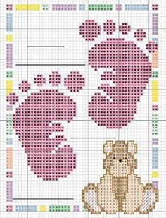 Cool cross stitch chart