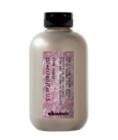 Davines This Is a Curl Building Serum Whether you have tightly coiled curls or loose waves, this light fluid will add shine and bounce. Rake a generous amount through damp hair and style as normal.   To Buy: $26, davines.com