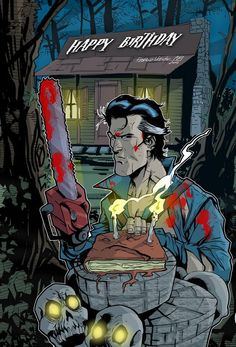 Happy Birthday to Bruce Campbell c/o @SaraSavage77