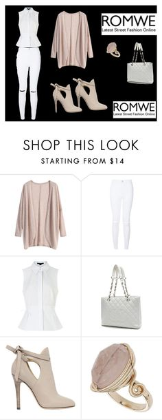 """""""Untitled #29"""" by beslija-indira ❤ liked on Polyvore featuring Alexander Wang, Chanel, Jimmy Choo, Topshop, women's clothing, women's fashion, women, female, woman and misses"""