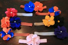 DIY Felt Headbands