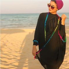 Burkini swimwear for hijabi women – Just Trendy Girls Modest Swimsuits, Modest Dresses, Casual Skirt Outfits, Summer Outfits, Hijab Fashion, Fashion Outfits, Women's Fashion, Egyptian Fashion, Hijab Stile