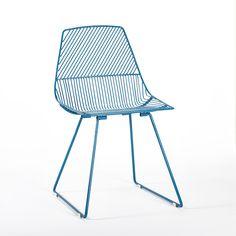 A splash of blue   Ethel Side Chair Peacock