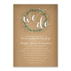Country Boho Invitation with Free Response Postcard   Ann's Bridal Bargains. 99 cent wedding invitations. So cute and so cheap! We do wedding invtation. #countrybohowedding #countrywedding #bohowedding #wedo #weddinginvitations #cuteweddinginvitations