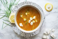 WEEKLY BITES - Greek chicken soup
