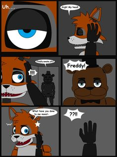 Fnaf the alternative story comic pg 1 by lucioro on divianart