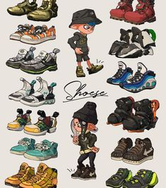"ウガー・ブナフ on Twitter: ""shoes… "" Character Design References, Character Art, Personajes Studio Ghibli, Clothing Sketches, Poses References, Fashion Design Drawings, Drawing Clothes, Shoe Drawing, Drawing Reference Poses"