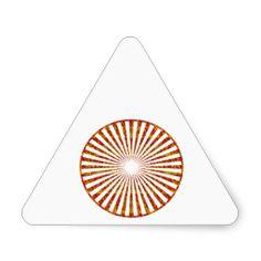 NVN34 navinJOSHI Chakra Mandala SunChakra GIFTS Sticker