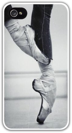 Ballet Dancer En Pointe Cell Phone Case Cover iPhone 4 4S 5 5S Samsung Galaxy S3 S4 Ballerina Dancing Shoes $24.99+FREE SHIPPING