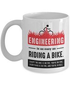 Engineer Mug Engineer Gifts Engineering Gifts Gifts For Engineers Engineering Humor, Electrical Engineering, Physics Humor, Industrial Engineering, Funny Coffee Mugs, Funny Mugs, Ingenieur Humor, Gifts For Dad, Gifts For Women