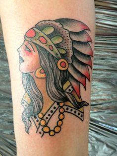 Sailor Jerry Tattoos Shapes: Pin Old School Indian Head Tattoo Sailor ~ Tattoo Ideas Inspiration