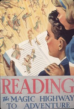 Official Children's Book Week poster, 1937