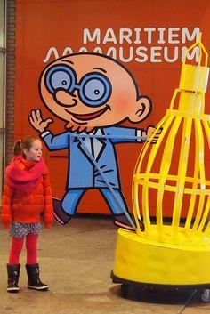 Welkom in het Maritiem Museum Rotterdam. Een geweldig museum om met kinderen te bezoeken!