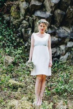noni | Brautkleid kurz und schlicht - Mathilde