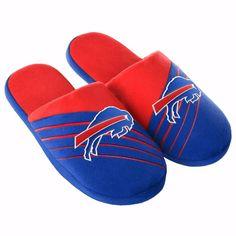 Buffalo Bills NFL Football 2016 Big Logo Slide Slippers All Sizes Available