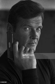 British actor Roger Moore as James Bond from the movie Live and Let Die.