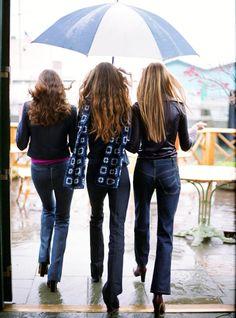 Gisele Bundchen, Carmen Kass & Missy Rayder for US Vogue