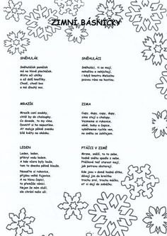 podzim básničky - Hledat Googlem Aa School, School Clubs, Music Education, Kids Education, Christmas Printables, Christmas Cards, Art For Kids, Crafts For Kids, Kids Songs