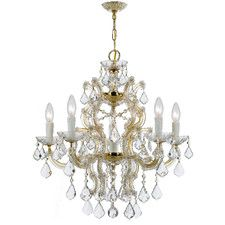 Maria Theresa 6 Light Crystal Chandelier