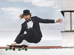 Iconic California long boarder Chris Del Moro is the new face of Baldessarini, the international luxury mens fashion brand