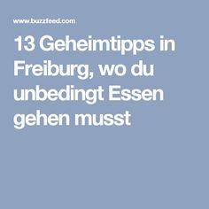 13 Geheimtipps in Freiburg, wo du unbedingt Essen gehen musst