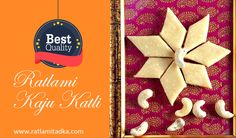 GOOD EVENING ALL FRIENDS  Special || KAJU KATLI || FREE HOME DELIVERY ALL INDIA ▶  shop now  http://www.ratlamitadka.com