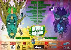 Green Island Festival - 19-21 Aug 2016 Electronic Music, Reggae, Comic Books, Island, Comics, Green, Block Island, Islands, Comic Book