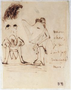 Victor Hugo not only wrote, he made some four thousand drawings over the course of his life.