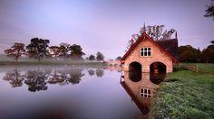 Boat House at Carton House, Co Kildare, Ireland