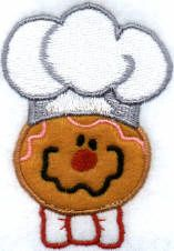 Threadsketches' set Twinkie Twigs - Christmas machine embroidery design, gingerbread man
