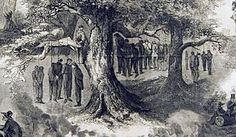 The Great Hanging at Gainesville was the execution by hanging of forty-one suspected Unionists in Gainesville, Texas, in October 1862. Two additional suspects were shot while trying to escape. - Wikipedia, the free encyclopedia