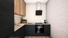 Kuchynsky kut v kompaktnom 2-izbovom byte v novostavbe Ceresne v bratislavskej Dubravke sme navrhli v kombinacii antracitovej, dubovej dyhy a mramoroveho obkladu. Design by @avedesign.sk ➡️ Studio interieroveho dizajnu v Bratislave #avedesign #interierovydizajn #bratislava #navrhinterieru #interier #kuchyna #kitchen #kitchendesign #interiorinspiration #interior4all #homedesign #instahome #instagood #instadaily #photooftheday #nofilter #interiorstyling #interior123 #interiorforinspo Kitchen Cabinets, Home Decor, Decoration Home, Room Decor, Cabinets, Home Interior Design, Dressers, Home Decoration, Kitchen Cupboards