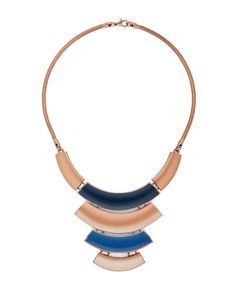 The Blue Plate Necklace by JewelMint.com, $29.99