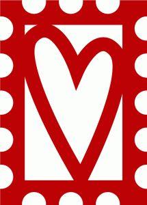Silhouette Design Store - View Design #53455: heart stamp