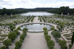 Versailles Palace garden and park designed by Andre le Notre and others for King Louis XIV