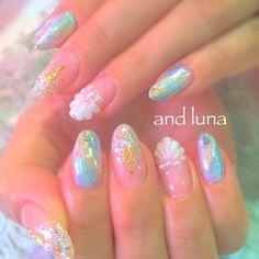 ネイル 画像 and luna アンドルーナ 新宿 1693576