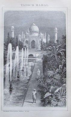 1895 TADSCH MAHAL INDIEN
