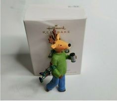 2009 Hallmark Keepsake Ornament What a Handy Guy!. Ornament is in excellent condition and comes with original box! Ornaments ship via USPS and ship within one day after payment is received! Check out the rest of my store for more ornaments! 5-92, Hallmark Christmas, Christmas Ornaments, Hallmark Homes, Seasonal Decor, Holiday Decor, Hallmark Keepsake Ornaments, Badge, Rest, Guy