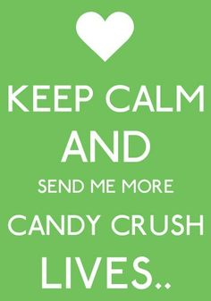 Candy Crush..why did I start this!!  Lol