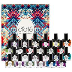 An entire month of truly lovable Ciate Caviar mini Paint Pots - $58. Hurry, they're going fast. #Sephora #Gifts #GiftIdeas