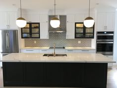 IKEA Kitchen - Axstad White and Lerhyttan Black-Brown - Transitional - Toronto - by Home Reborn Black Ikea Kitchen, Black Kitchens, Ikea Kitchen Planning, Transitional Kitchen, Cozy Living Rooms, Black And Brown, Toronto, New Homes, House