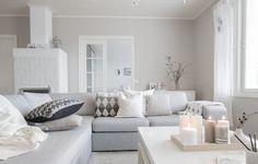 living room natural tones