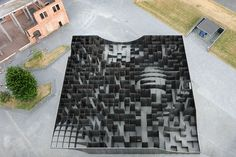 Gijs Van Vaerenbergh, Labyrinth, C-mine arts centre, Genk, Belgio