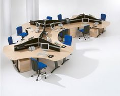 Office Design Cool Desk Space DesignOffice Interior