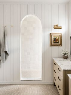 Adding an Archway to This Shower Opened Up a Whole New World