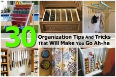 30 Organization Tips And Tricks That Will Make You Go Ah-ha