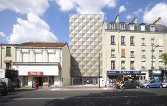 Ecole de Danse Aurélie Dupont, par Lankry architectes