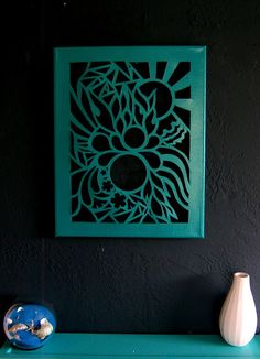 It's not a difficult to buy an art piece but it remains special when we make something with our own hand.Here we will learn about the cut out canvas art projects and ideas about it. Canvas Art Projects, Diy Canvas Art, Diy Wall Art, Diy Art, Canvas Ideas, Kirigami, Cut Out Canvas, Cuadros Diy, Cut Out Art