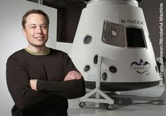 "Elon Musk... aka 'the real Tony Stark."" Creator of Tesla Motors and SpaceX. He wants to colonize Mars."